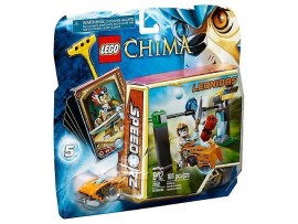 LEGO LEGENDS OF CHIMA CHI WATERFALL - LEONIDAS 70102