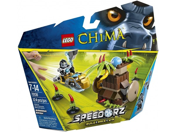 LEGO LEGENDS OF CHIMA SPEEDORZ BANANA BASH 70136