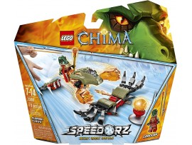 LEGO LEGENDS OF CHIMA SPEEDORZ FLAMING CLAWS 70150
