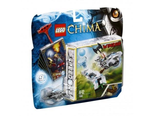 LEGO LEGENDS OF CHIMA SPEEDORZ ICE TOWER - WINZAR 70106
