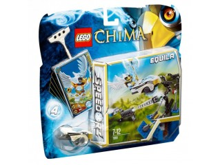 LEGO LEGENDS OF CHIMA TARGET PRACTICE - EQUILA 70101