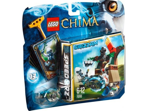LEGO LEGENDS OF CHIMA TOWER TARGET - GRIZZAM 70110