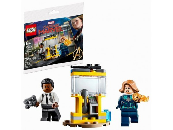 LEGO MARVEL SUPER HEROES - CAPTAIN MARVEL AND NICK FURY 30453