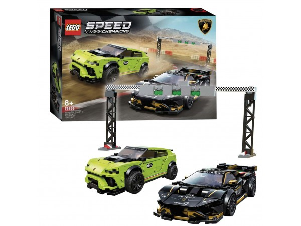 Lego Speed Champions Lamborghini Urus St-X Ve Huracn Super Trofeo Evo 76899