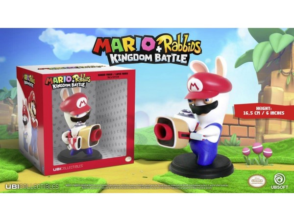 MARIO RABBIDS KINGDOM BATTLE RABBID MARIO FIGURU 16,5CM