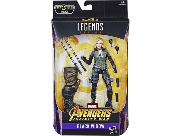 MARVEL LEGENDS SERIES MARVEL AVENGERS BLACK WIDOW FIGURU