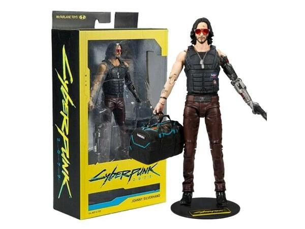 McFarlane Toys Cyberpunk 2077 Johnny Silverhand Bag Action Figür
