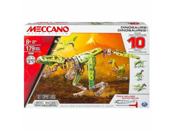 MECCANO 10 MODELLI DINAZOR SET - 179 PARCA