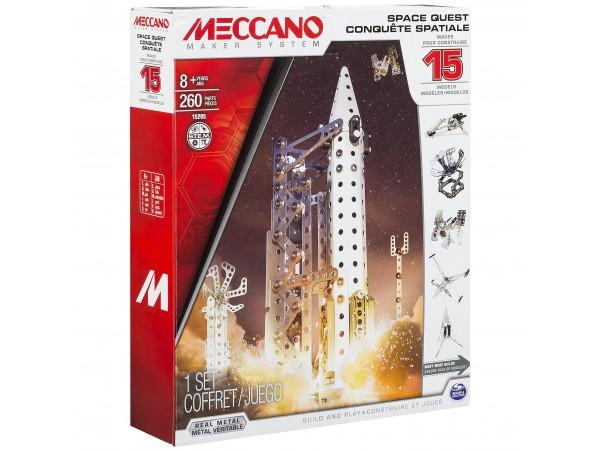 MECCANO 15 MODELLI UZAY SET - 260 PARCA