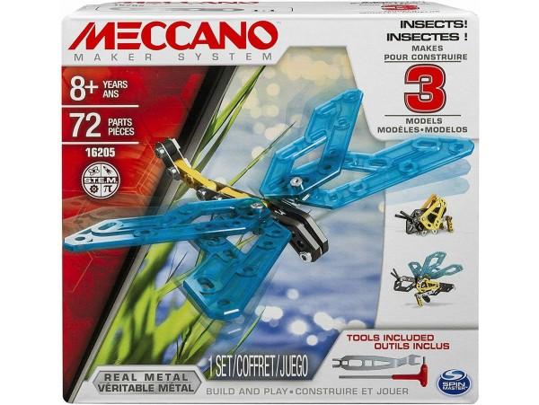 MECCANO 3 MODELLI BÖCEK SET - 72 PARCA