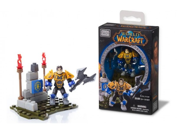 MEGA BLOKS WORLD OF WARCRAFT - COLTON 28 PARCA