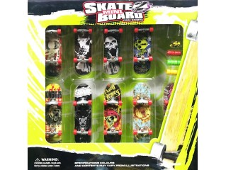 Mini Skate Board Parmak Kaykay - 9 Kaykay 36 Parcali Set V1