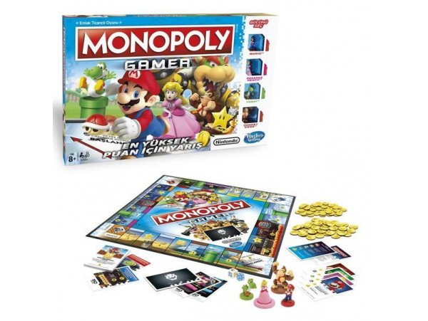 MONOPOLY GAMER NINTENDO EDITION