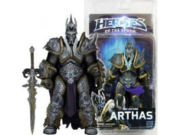 NECA ARTHAS LICH KING HEROES OF STORM 18cm ACTION FIGURE