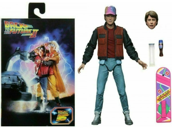 NECA BACK TO THE FUTURE 2 ULTIMATE MARTY MCFLY 20CM ACTION FIGUR