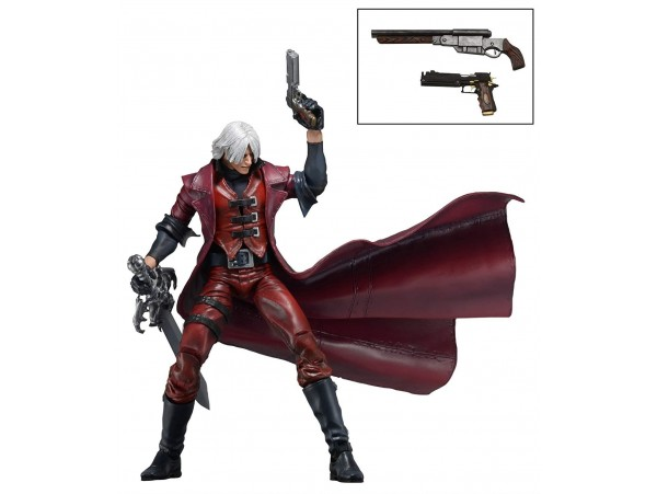 "NECA DEVIL MAY CRY 7"" ACTION FIGURE ULTIMATE DANTE"