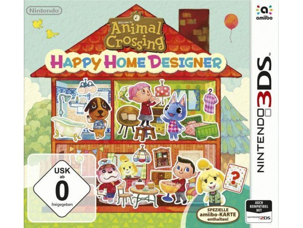 NINTENDO 3DS ANIMAL CROSSING HAPPY HOME DESIGNER