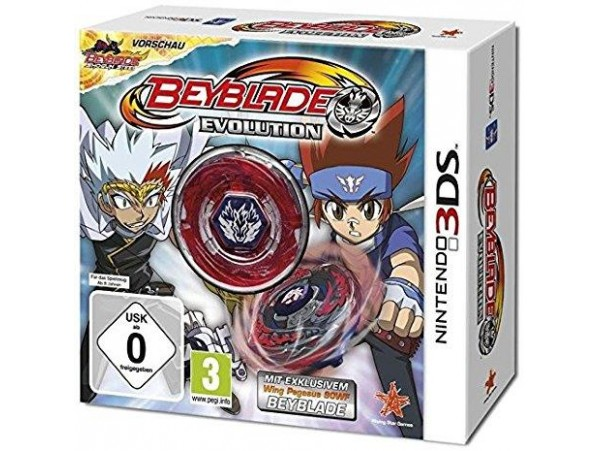 NINTENDO 3DS BEYBLADE EVOLUTION COLLECTOR EDITION
