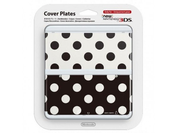 NINTENDO 3DS COVER PLATES NEW 3DS NOKTA DESENLI