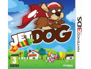NINTENDO 3DS JET DOG