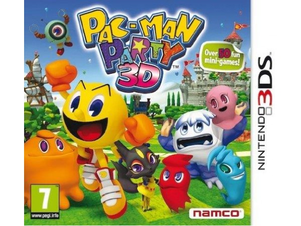 NINTENDO 3DS PAC MAN PARTY 3D