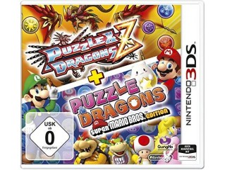 NINTENDO 3DS PUZZLE AND DRAGONS Z + PUZZLE DRAGONS SUPER MARIO BROS EDITION