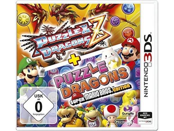 NINTENDO 3DS PUZZLE AND DRAGONS Z + PUZZLE DRAGONS SUPER MARIO BROS EDITION
