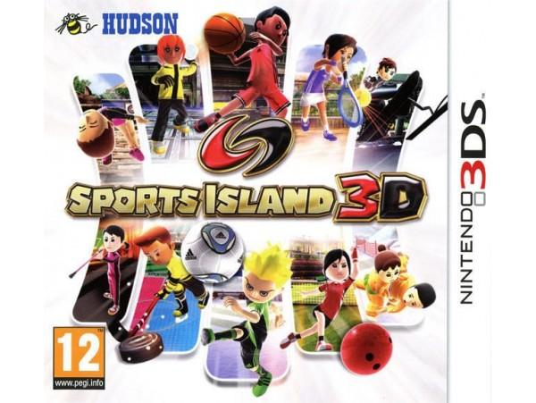 NINTENDO 3DS SPORTS ISLAND 3D