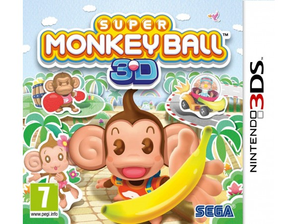NINTENDO 3DS SUPER MONKEYBALL 3D