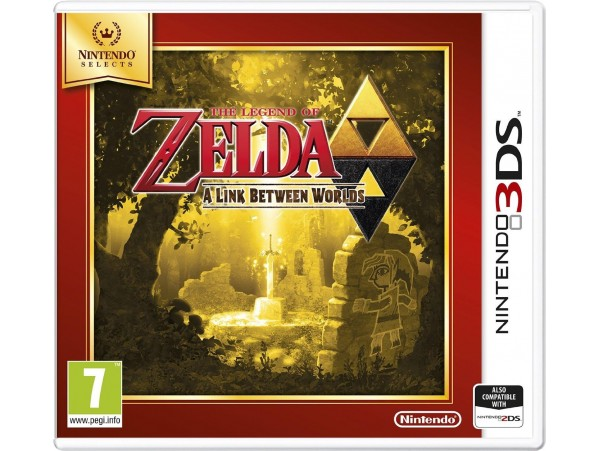 NINTENDO 3DS THE LEGEND OF ZELDA A LINK BETWEEN WORLDS