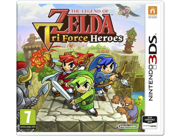 NINTENDO 3DS THE LEGEND OF ZELDA TRI FORCE HEROES