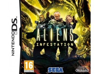 NINTENDO DS ALIENS INFESTATION