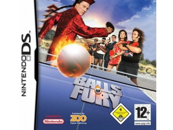 NINTENDO DS BALLS OF FURY