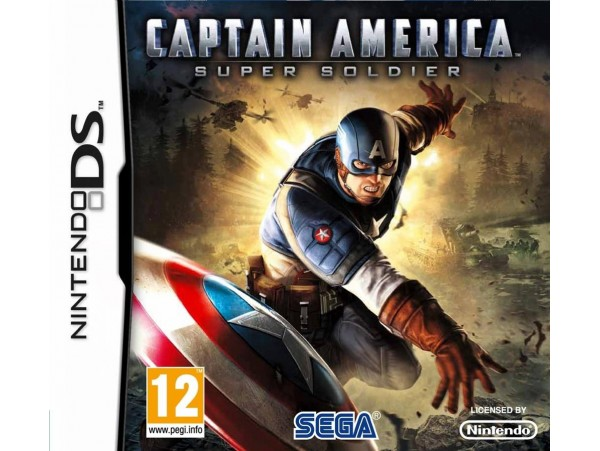 NINTENDO DS CAPTAIN AMERICA SUPER SOLDIER