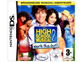 NINTENDO DS DISNEY HIGH SCHOOL MUSICAL 2 WORK THIS OUT