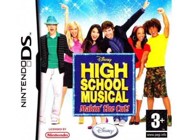 NINTENDO DS DISNEY HIGH SCHOOL MUSICAL MAKIN THE CUT