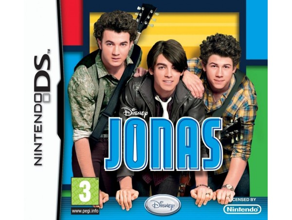 Nintendo Ds Disney Jonas