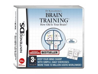 NINTENDO DS DR KAWASHIMAS BRAIN TRAINING HOW OLD IS YOUR BR