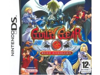NINTENDO DS GUILTY GEAR DUST STRIKERS