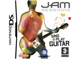NINTENDO DS JAM SESSIONS SING PLAY GUITAR