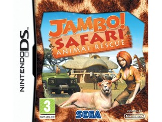 NINTENDO DS JAMBO SAFARI ANIMAL RESCUE