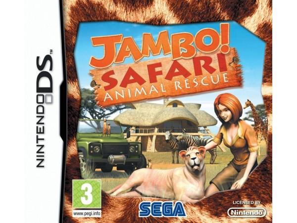 Nintendo Ds Jambo Safari Animal Rescue