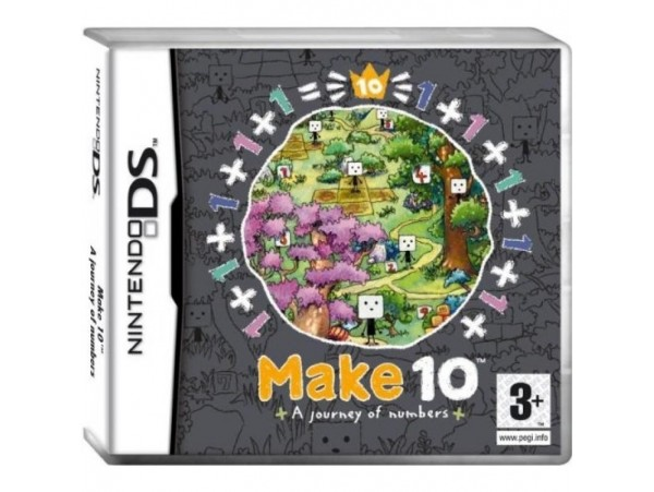 NINTENDO DS MAKE 10 AJOURNEY OF NUMBERS