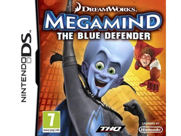 NINTENDO DS MEGAMIND THE BLUE DEFENDER