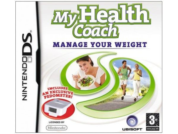 NINTENDO DS MY HEALTH COACH MANAGE YOUR WEIGHT