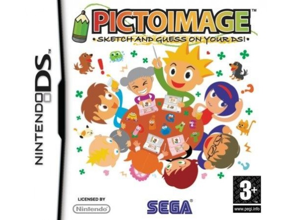 NINTENDO DS PICTOIMAGE SKETCH AND QUESS ON YOUR DSI
