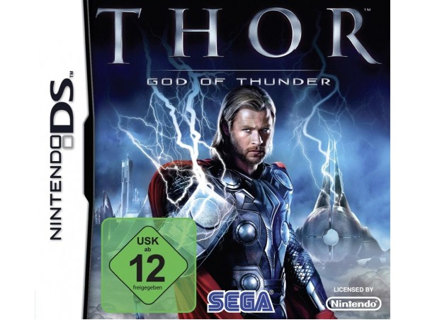 NINTENDO DS THOR GOD OF THUNDER