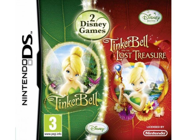 NINTENDO DS TINKERBELL LOST TREASURE 2 OYUN