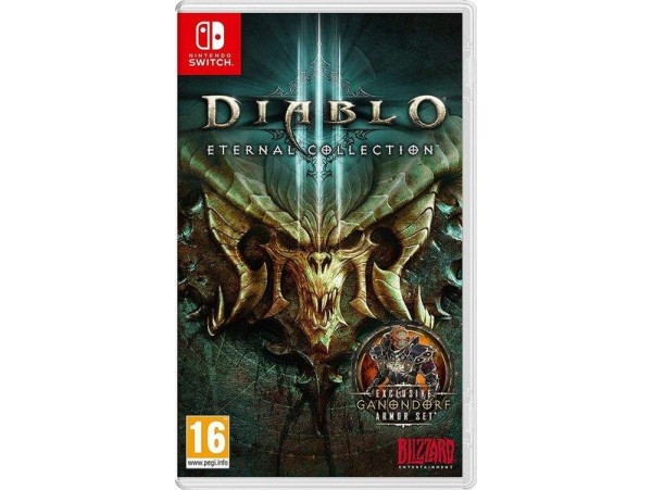 NINTENDO SWITCH DIABLO 3 ETERNAL COLLECTION