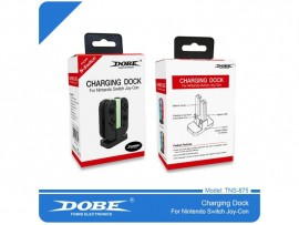 NINTENDO SWITCH DOBE 4'LU CHARGING DOCK